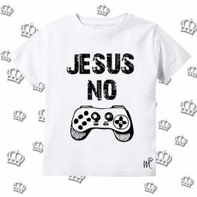 Camiseta Infantil Evangelica Gospel Cristã Wars Nerd
