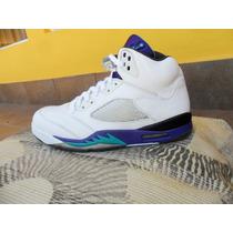 Tenis Jordan V 5 Retro Grape + Envio Dhl Gratis