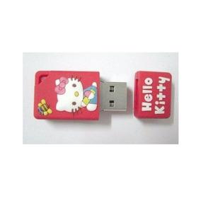 Pen Drive Usb 2.0 Embo Mini Hello Kitty 4 Gb Promoção Barato