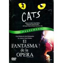 Dvd Cats El Musical ( 1998 ) Y Fantasma De La Opera ( 2004 )