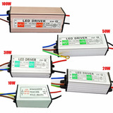 Driver Controlador 10 20 30 50 Y 100 W Reflector Led