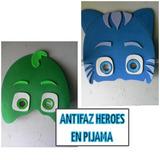 Fiesta Foami Carteles Dibujos Héroes En Pijamas