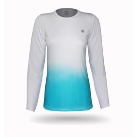 Blusa Feminina Degradê Handmade Proteção Solar Uv 50+
