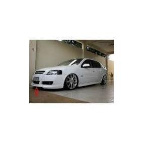 Spoiler Dianteiro Astra Hatch 03/11 + Traseiro- O Par