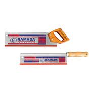 Kit Com 2 Serrotes De Costa 12  E 10  - 9 Dentes/pol Ramada