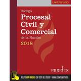 Código Procesal Civil Y Comercial 2018 - Universitario