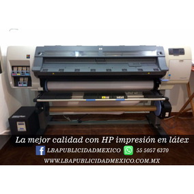 Impresion Digital Tinta Latex En Plotter Hp Y Corte De Vinil
