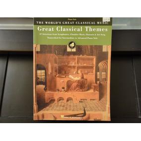 Libro: Great Classical Themes. 67 Partituras Para Piano