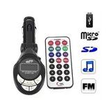 Transmisor Reproductor Mp3 Fm Para Carro Usb Sd Aux