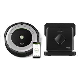 Irobot Roomba 690 + Braava 380 - Combo Oferta!