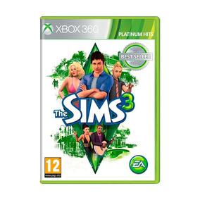 Jogo The Sims 3 Xbox 360 Novo Lacrado + Pôster Brinde