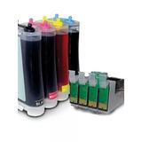 Sistema Continuo Para Impresora Epson Tx 125, Tx135 Y T25.