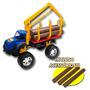 Caminhão De Brinquedo Guindaste Truck Tora Articulado