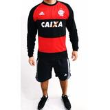Camisa Do Flamengo Manga Longa E Pólo.