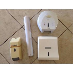 Conjunto Porta Papel, Copo, Sabonete Líquido