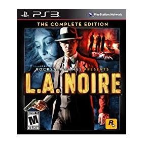 La Noire Complete Edition Ps3 Código Psn Original Completo