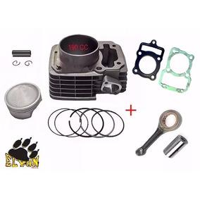 Kit Aumento Cilindrada 190cc Titan / Bros 150 +biela + Junta