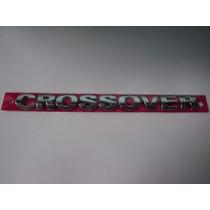 Emblema Crossover Cromado P/ Volkswagen - Bre