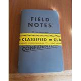 Libreta Field Notes Classified