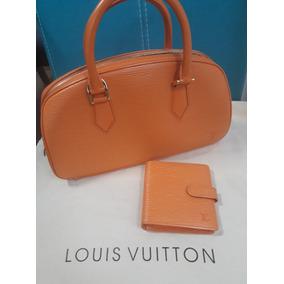 Bolsa Y Cartera Louis Vuitton 100% Original Seminueva
