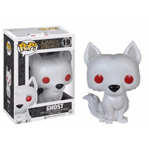 Game Of Thrones - Ghost Boneco Pop Vinil Da Funko 10cms