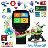 Smartwatch Relógio Celular 3g Wifi Gps Google Play Internet