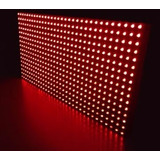 Painel Led Outdoor Placa Para Montar 32 X 16 X 2 Cm
