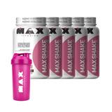 Kit 5x Max Shake Emagrecedor + Coqueteleira - Max Titanium
