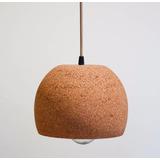 Lámpara Colgante - Corcho - Nude - Ecofriendly - Corchetes