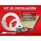 Kit De Instalacion Mirage1/4 X 1/2 Minisplit 1 Y 1.5 Ton