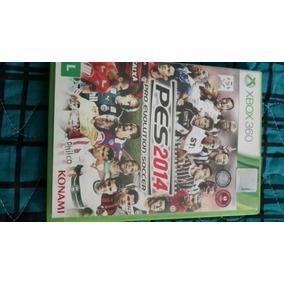Jogo Para Xbox 360 Original Pes 2014