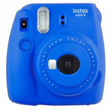 Cámara Fujifilm Instax Mini 9 Cobalt Blue - Envío Gratis
