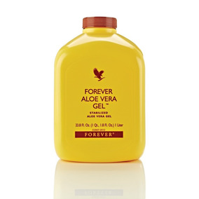 Suco Aloe Vera Gel Puro Natural Forever Living Babosa 1 Litr