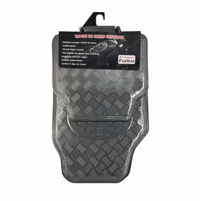 Jogo Tapete Automotivo Alumínio Carbono Carro Universal Novo