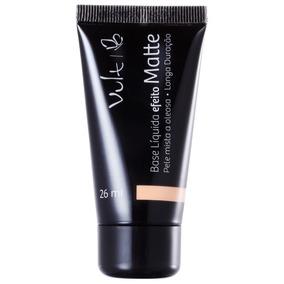 Vult Make Up Efeito Matte 04 Bege - Base Líquida 26ml Blz