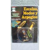 Libro Metodo Guitarra Escalas Modos Y Arpegios Cd De Regalo