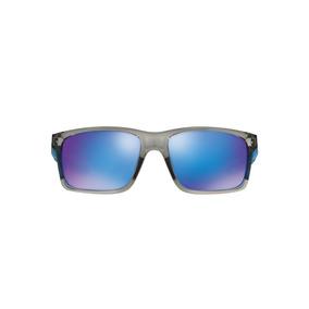 e365eb352 Oakley Mainlink Oo9264 03 Cinza Lente Azul Safira Iridium Ta