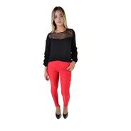 Pantalon De Vestir Chupin Elastizado Mujer The Big Shop