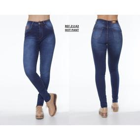 Calça Corpete Feminina Jeans Hot Pant Biotipo