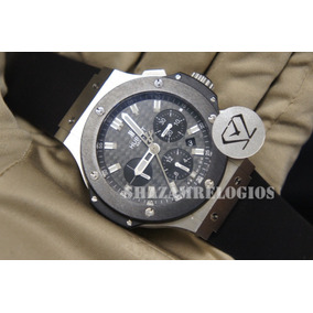 b41239ba2d8 Hublot Big Band Black Ceramic Ayrton Senna. - Relógios De Pulso ...
