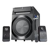 Sykik Power Spp0298bt, Bluetooth Potente 210w Rms, Con 8 Ac
