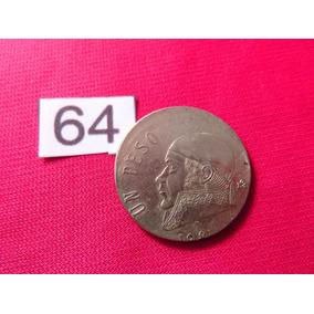 Moneda Con Error Un Peso Morelos 1981 Descentrada #64