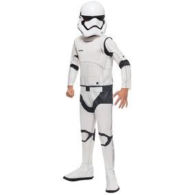 Disfraz Star Wars Vii Villain Trooper Niño Gde 142 A 152cm
