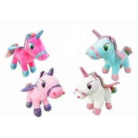 Kit Com 20 Unicornio De Pelucia Fofo Com Asas Atacado