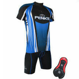 Conjunto Ciclista Masculino Bermuda + Camisa Penks P-m-g-gg