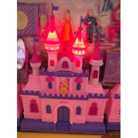 Castillo Princesas Con Luz Sonido Accesorios Super Precio +