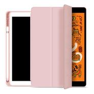 Capa Smartcase P/ iPad 8ª Geração C Suporte Para Pencil Rose