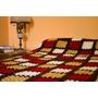 Manta Tejida A Crochet Vs Modelos 1 Plaza Y Media Artesanal