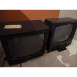 Oferta: 2 Tv 14 Pulgadas A Revisar. Sin Ctrol Remoto.