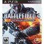 Battlefield 4 Premium Edition Ps3 Juego Con Todos Los Dlc